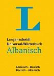 Langenscheidt Universal-Wörterbuch Albanisch - mit Tipps für die Reise