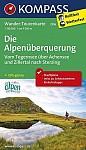 Die Alpenüberquerung - Vom Tegernsee über Achensee und Zillertal nach Sterzing 1 : 50 000