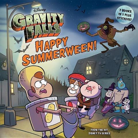 Gravity Falls Happy Summerween! / The Convenience Store. . .of Horrors! [With Sticker(s)]