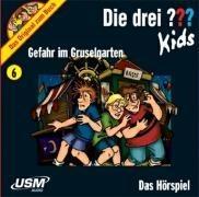 Die drei ??? Kids 6. Gefahr im Gruselgarten (drei Fragezeichen) (audiobook)