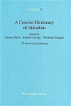 A Concise Dictionary of Akkadian