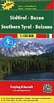 Südtirol, Bozen 1 : 150 000