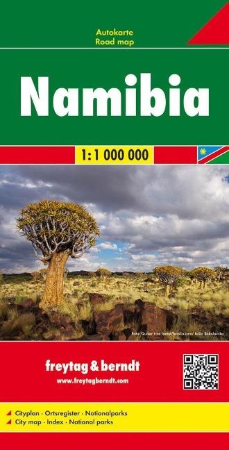 Namibia, Autokarte 1:1.000.000