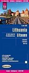 Reise Know-How Landkarte Litauen und Kaliningrad 1 : 325.000