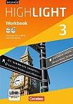 English G Highlight 03: 7. Schuljahr Hauptschule. Workbook mit CD-ROM (e-Workbook) und Audios online
