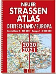 Neuer Straßenatlas Deutschland / Europa 2020 / 2021