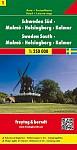 FuB Schweden 01 Süd, Malmö, Helsingborg, Kalmar 1 : 250 000. Autokarte