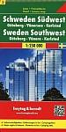 FuB Schweden 02 Südwest, Göteborg, Vaenersee, Karlstad 1 : 250 000. Autokarte
