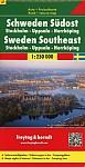 FuB Schweden 03 Südost, Stockholm, Uppsala, Norrköping 1 : 250 000. Autokarte