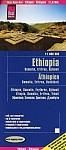 Reise Know-How Landkarte Äthiopien, Somalia, Eritrea, Dschibuti (1:1.800.000)