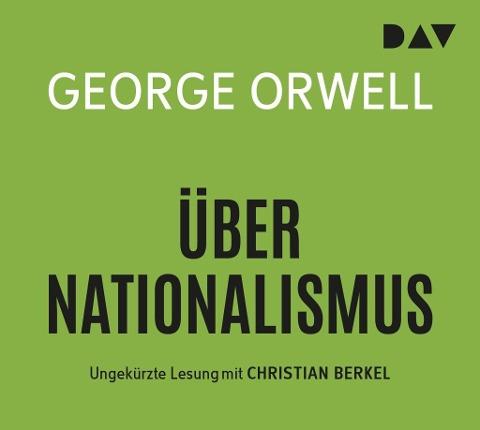 Über Nationalismus (audiobook)