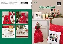 Christkindl. Kreuzstich-Stickideen Weihnachten