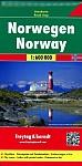 FuB Norwegen 1 : 600 000. Autokarte