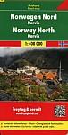 Norwegen Nord - Narvik, Autokarte 1:400.000