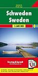 Schweden, Autokarte 1:600.000