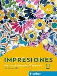 Impresiones A2. Kursbuch + Arbeitsbuch + 2 Audio-CDs