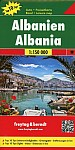 Albanien, Top 10 Tips, Autokarte 1:150.000
