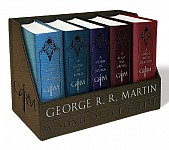 George R. R. Martin's A Game of Thrones Leather-Cloth Boxed Set (Song of Ice and Fire Series)