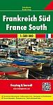 Frankreich Süd / France South 1 : 500 000. Autokarte