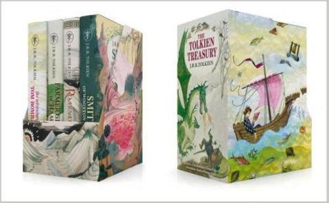 The Tolkien Treasury: Roverandom, Farmer Giles of Ham, The Adventures of Tom Bombadil, Smith of Wootton Major