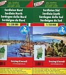 Sardinien Nord und Süd, Set, Autokarten 1:150.000