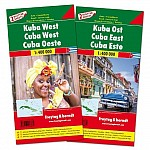 Kuba West und Ost, Autokarten Set 1:400.000