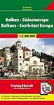 Balkan - Südosteuropa, Autokarte 1:2.000.000