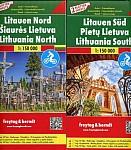 Litauen, Autokarten Set 1:150.000