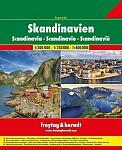 Skandinavien Superatlas, Autoatlas 1:250.000 - 1:400.000
