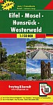 Eifel - Mosel - Hunsrück - Westerwald, Autokarte 1:150.000, Top 10 Tips, Blatt 17