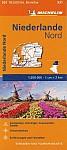 Michelin Niederlande Nord. Straßen- und Tourismuskarte 1:200.000