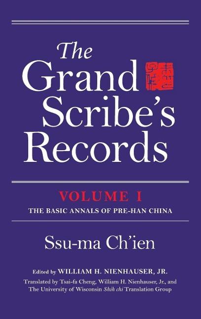 Grand Scribe's Records, Volume I