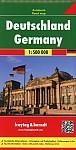 Deutschland, Autokarte 1:500.000