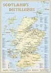 Whisky Distilleries Scotland - Poster 70x100cm Standard Edition
