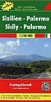 Sizilien - Palermo 1 : 150 000. Auto- und Freizeitkarte