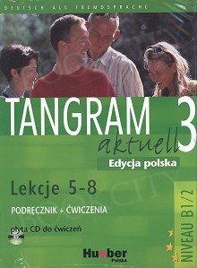 Tangram aktuell 3 L.5-8 Kurs und Arbeitsbuch mit CD zum AB