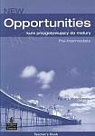 New Opportunities Pre-Intermediate książka nauczyciela