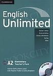 English Unlimited A2 Elementary książka nauczyciela
