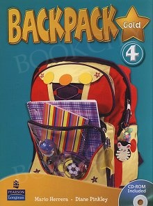 Backpack Gold 4 Students' Book+CD-Rom