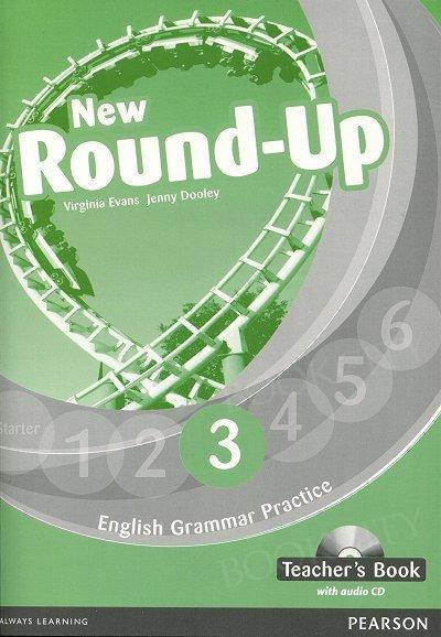 New Round Up 3 Teacher's Book plus Audio CD
