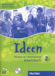 Ideen 2 Arbeitsbuch mit CD zum AB