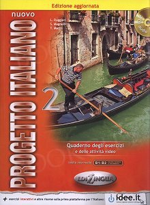 Nuovo Progetto Italiano 2 Ćwiczenia + CD (Nowa wersja)