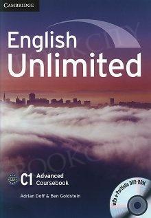 English Unlimited C1 Advanced Coursebook with e-Portfolio