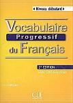 Vocabulaire Progressif Du Francais Débutant 2 edycja podręcznik + CD