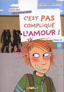 C'est pas complique l'amour Książka z płytą CD