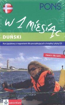 Duński w 1 miesiąc Książka + CD