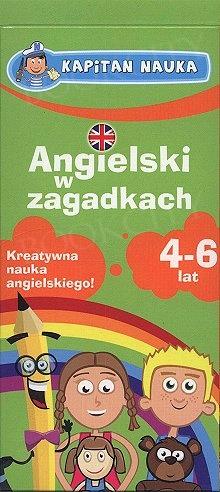 Karty obrazkowe. Angielski w zagadkach (4-6 lat)