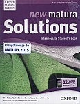 new matura Solutions Intermediate Student's Book (wydanie egzaminacyjne Matura 2015)