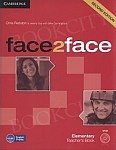 face2face 2nd Edition Elementary książka nauczyciela