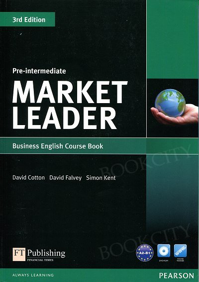 Market Leader 3rd Edition Pre-Intermediate Coursebook with DVD-ROM (bez kodu)